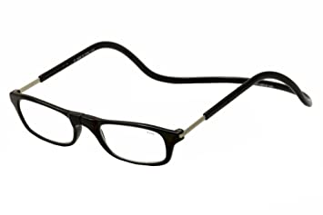 bd4cdc064ff Image Unavailable. Image not available for. Color  Clic Reader Eyeglasses  Original Readers Black Magnetic Reading Glasses ...