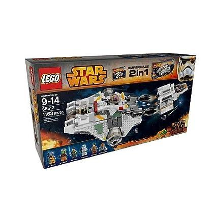 Amazon.com: LEGO Star Wars Rebels Building Set 2 in 1 (66512 ...