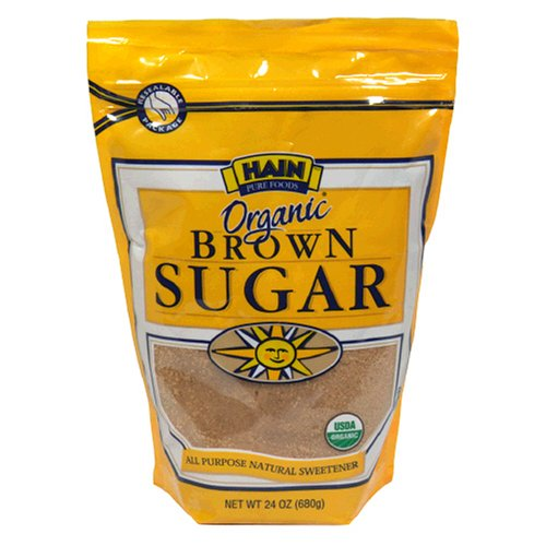 Hain Pure Foods Organic Lght Brown Sugar, 24-Ounce Units (Pack of 6)