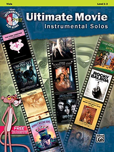 Ultimate Movie Instrumental Solos for Strings: Viola, Book & CD (Ultimate Pop Instrumental Solos Series)