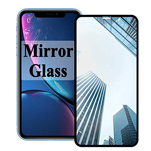 【Mirror Effect】 Xr Screen Protector Compatible with Apple iPhone X R Tempered Glass 10r Rx Film iPhonexr Aphone i Phone Protection【9H Hardness】 【 Easy to Install】 6.1inch 2018
