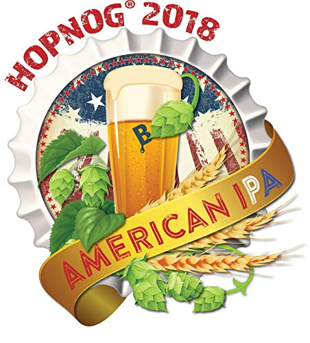 Brewer's Best Limited Edition Home Brew 5 Gallon Beer Ingredient Recipe Kit - HopNog 2018 - American IPA - with Free Double-Wall, Insulated Stainless Steel Pint