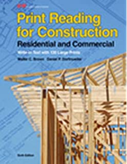 Blueprint reading for the construction trades 2nd edition peter print reading for construction residential and commercial malvernweather Gallery