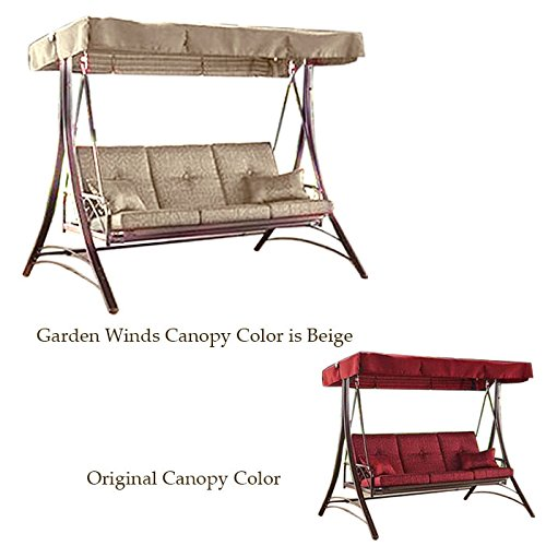 Cheap Garden Winds Callimont Park Swing Replacement Canopy Top Cover