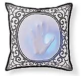 Animated Skeleton Hand Pillow Spooky Halloween Decoration