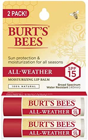 Lip Balm & Chapstick: Burt's Bees All-Weather