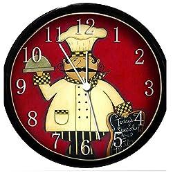 Glow In the Dark Wall Clock - Fat Chef #23