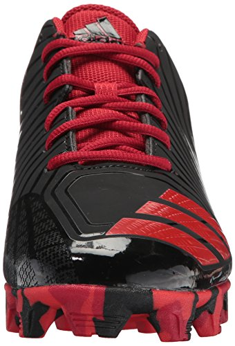adidas Performance Herren Icon MD Baseballschuh Kern Schwarz, Rot, Power Rot