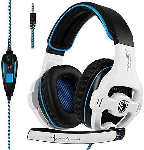 SADES SA810 Gaming Headset Xbox One PS4 auriculares de juego ...