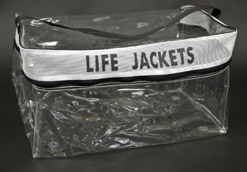 Omega 42013 AK-1 Type II Life Jacket (Clear Storage - Life Bag Jacket