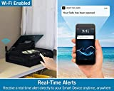 Night Owl Wi-Fi Enabled Smart Safe with Real-Time