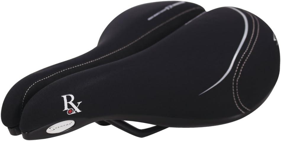 Serfas Men/'s RX-921L Bicycle Saddle-Black-Bike Seat-Commuter-New