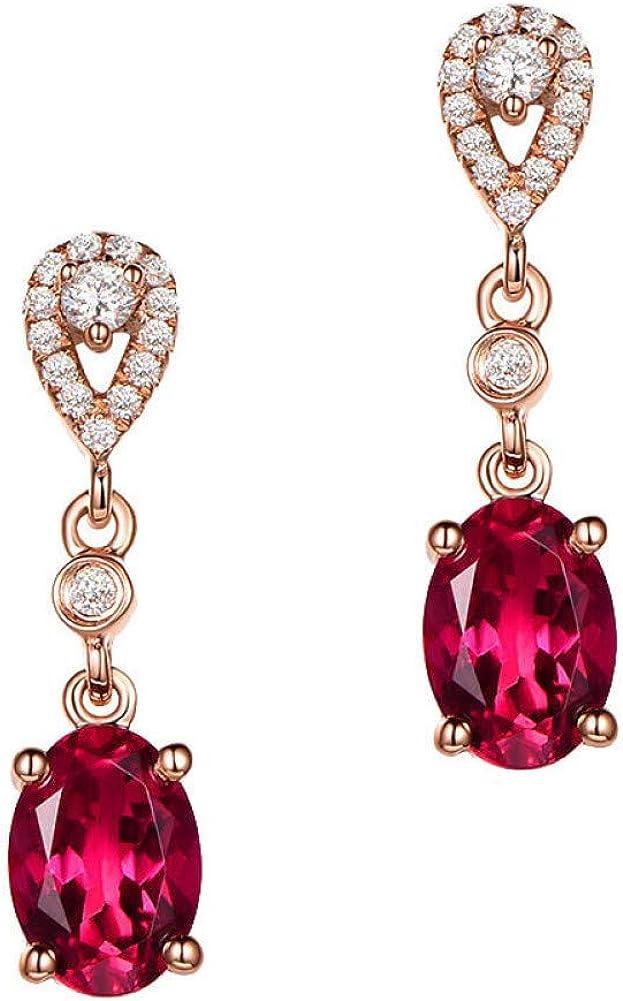 Pendientes Diamante Agata Piedras Preciosas Jade Colgante Granate Pendientes Mujeres