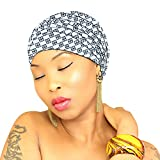 Headwraps for women AUTHENTIC AFRICAN FABRIC Hijab HeadWrap Head Scarf African Head wrap Scarf African American African Head Wrap Turban ROYAL HEAD WRAPS