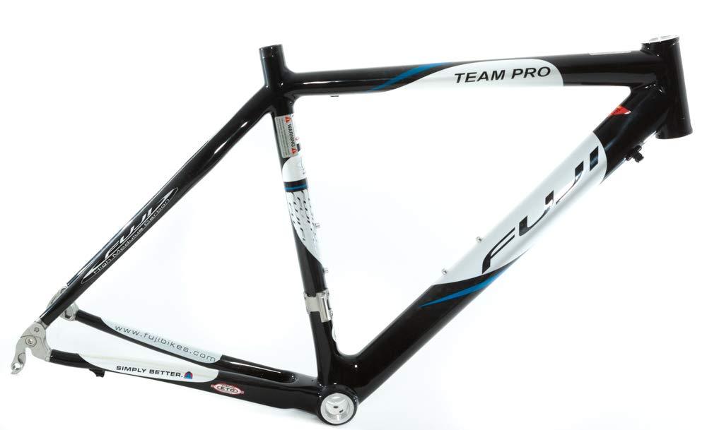 Fuji Team Pro 49cm カーボンファイバーロードバイクフレーム BSA 700c ブラック 1230g B07JXZ3Y98