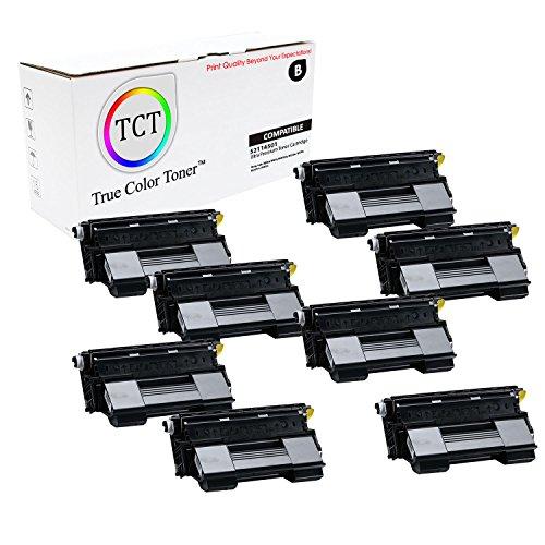 TCT Premium Compatible 52114502 Black Laser Toner Cartridge 8 Pack for the OKI B6200 series - 10K yield- works with the Okidata B6200, B6200dn, B6200n, B6300, B6300dn, B6300n, B6300nMX printers