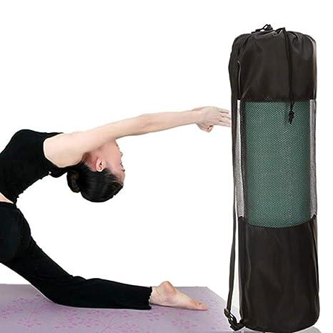 rycnet - Bolsa portátil de Nailon para Esterilla de Yoga, con Correa Ajustable