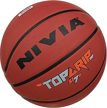 Nivia Top Grip Basketball,Size: 6, Color May Vary