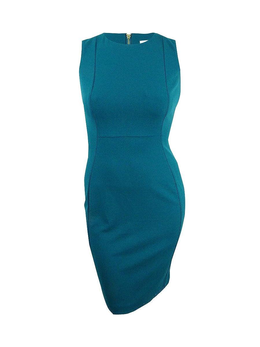 41c47b23 Online Cheap wholesale Calvin Klein Womens Scuba Crepe Sleeveless Princess  Seam Sheath Dress Dresses Suppliers