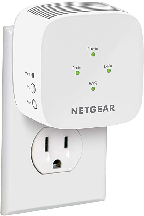NETGEAR WiFi Range Extender EX5000 - Coverage up to 1500 sq.ft. and 25 Devices with AC1200 Dual Band Wireless Signal Booster & Repeater (up to 1200Mbps Speed), and Compact Wall Plug Design (Renewed)
