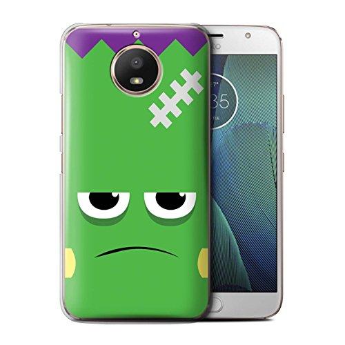 STUFF4 Phone Case/Cover for Motorola Moto E4 2017 / Frankenstein Design/Halloween Character Collection ()