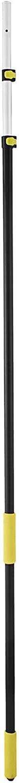 Moracle Podadora Telescopica Sierra Telescópica de Poste 6-18 pies Extensible Sierra Telescópica para Jardines para Podar y Recortar Ramas y Hojas