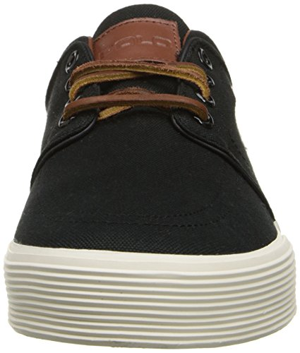 Polo Ralph Lauren Heren Faxon Lage Sneaker Polo Black Room Canvas