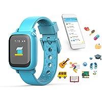 Pulpo por Joy niños Smartwatch Enseña buena hábitos y tiempo, Azul (Sky Blue)