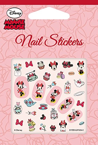 Amazon.com: Disney Nail Art stickers Cartoon Decoration Mix 4-Pack ...
