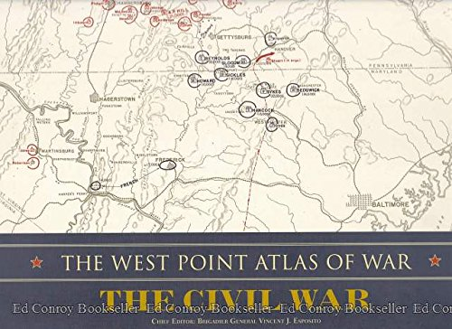 The West Point Atlas of War: The Civil War