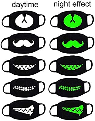 Winter Mouth Mask Winter Supplies MADE Pattern Anti Dust Protective Face