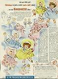 Woolworth's Christmas doll ad 1951 Ee-Gee Betty & Beth Gurglee Jolly Jill +