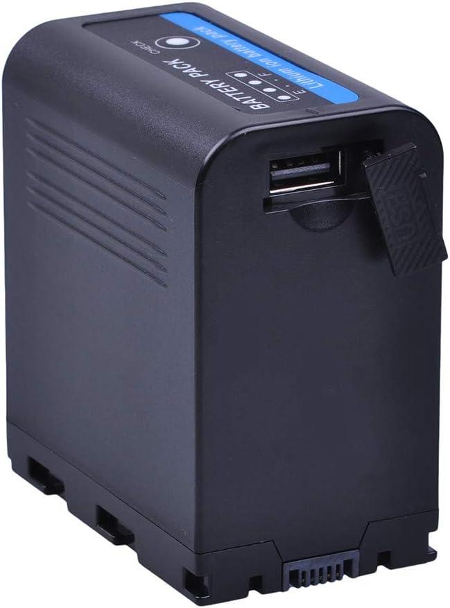PowerTrust 1-Pack SSL-JVC70 JVC70 Replacement li-ion Camcorder Batteries for JVC SSL-JVC50 SSL JVC70 JVC GY-HMQ10 GY-HM200 GY-LS300