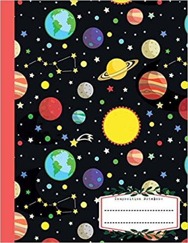 Amazoncom Composition Notebook Blank Wide Ruled Large