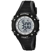 Armitron Sport Women's 45/7081BLK Digital Chronograph Black Resin Strap Watch