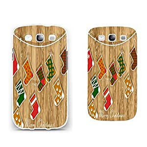 Hybrid High Impact Ultra Thin Hard Back Phone Case Cover for Samsung Galaxy S3 I9300 (wood grain BY811)