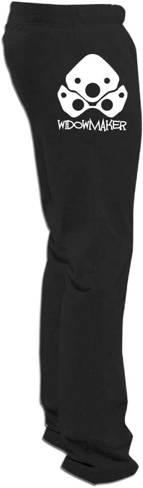 Overwatch Men's Widowmaker Vintage Visor Sweatpants For Men Leisure Wear Black