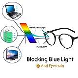 Cyxus Anti Blue Light Computer Glasses for Blocking UV Eye Strain Headache Reading Eyewear, Men/Women