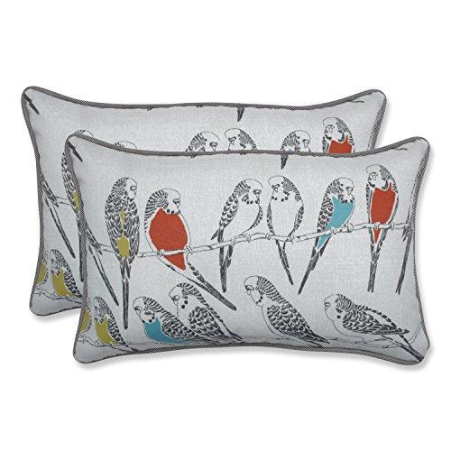 Pillow Perfect Outdoor Indoor Retweet Mango Rectangular Throw Pillow Set of 2