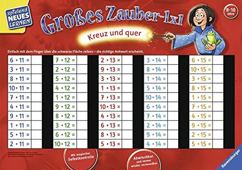 Großes Zauber-1x1: Kreuz und quer (Spielend Neues Lernen)