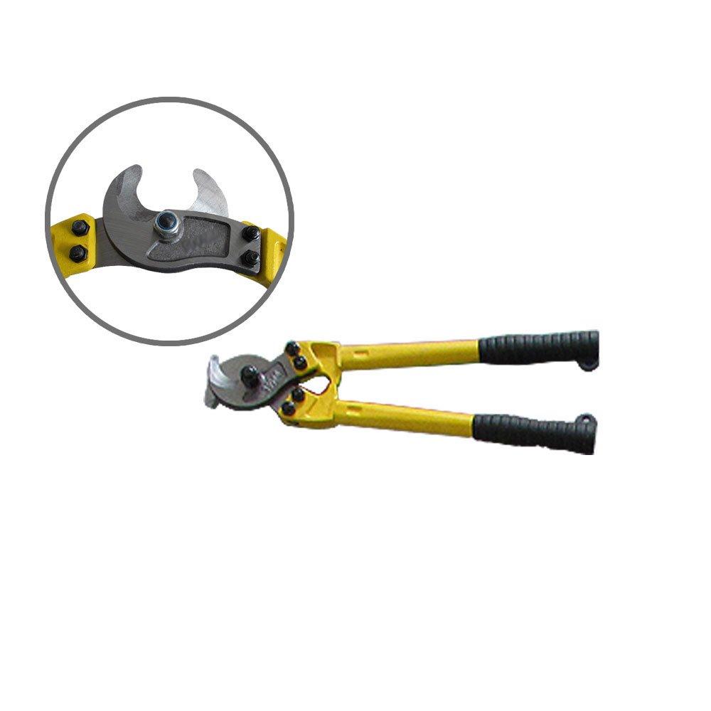 NUZAMAS Heavy Duty Kabelschneider 14 Zoll Schneiden von Kupfer und Aluminiumdrahtseil Elektrische Kabel bis zu 100 mm/² 350mm
