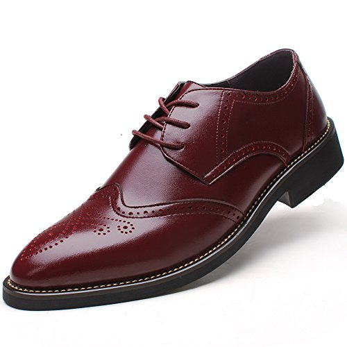 Men's Burgundy Dress Shoe: Amazon.com