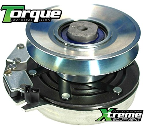Xtreme Outdoor Power Equipment X0327 Replaces John Deere PTO Clutch AM126100 5219-1 LX255 LX266 LX277 LX279 LX280 LX288 LX289 GT225 GT235 GT235E GT245 GX255 LT190 SST15 SST16 SST18 -Bearing Upgrade