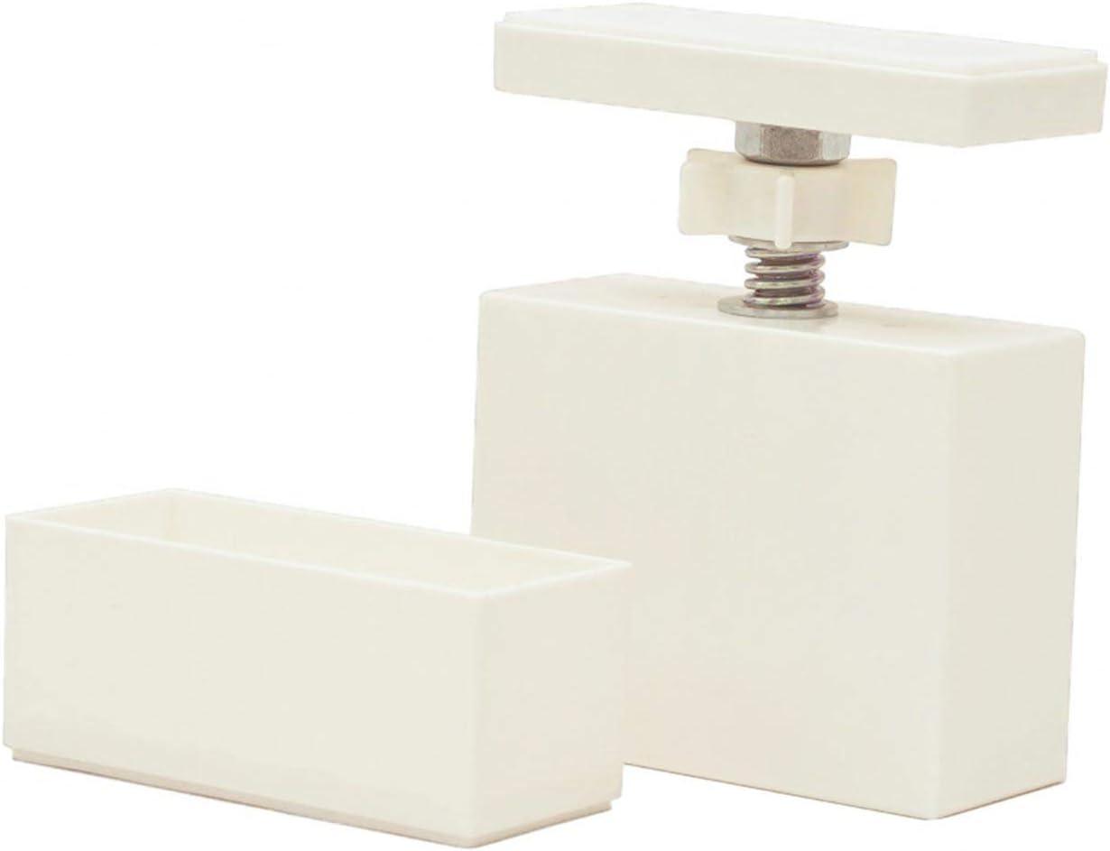 平安伸銅工業 LABRICO DIY収納パーツ 2×4アジャスター オフホワイト DXO-1