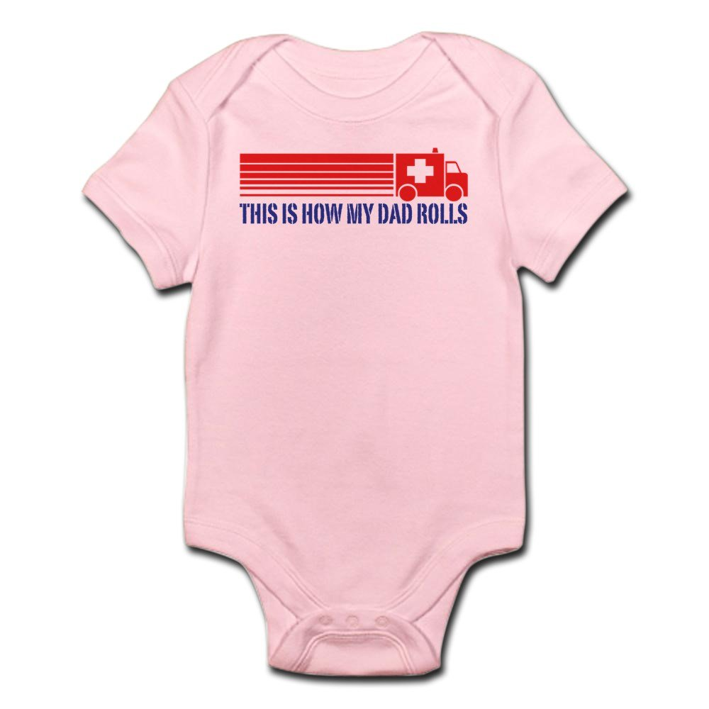 CafePress - EMT Paramedic Dad - Cute Infant Bodysuit Baby Romper