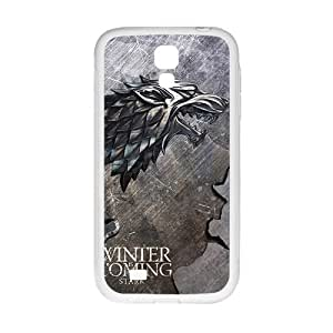 Winter coming bald eagle map Cell Phone Case for Samsung Galaxy S4