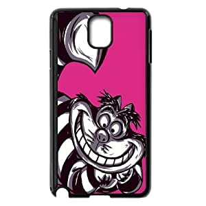 High Quality Phone Back Case Pattern Design 9We All Mad Here Quotes-Cheshire Cat- For Samsung Galaxy NOTE4 Case Cover