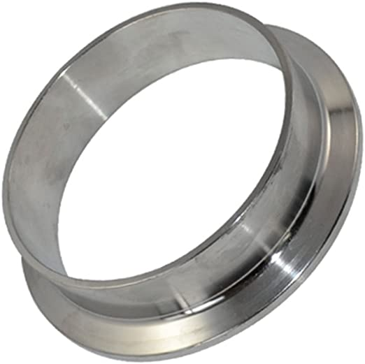"SUS 316 Stainless Steel 25mm OD Sanitary Pipe Weld on Ferrule Fit 1.5/"" Tri Clamp"
