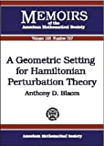 img - for A Geometric Setting for Hamiltonian Perturbation Theory book / textbook / text book