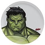 #4: Zak Designs Marvel Avengers The Incredible Hulk Dinnerware Plastic Plate 10 Inch
